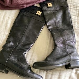 Knee High Leather Michael Kors Boots